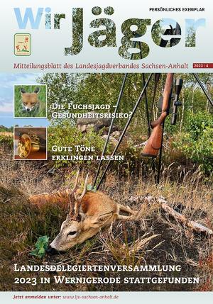 Wir Jäger in Sachsen-Anhalt